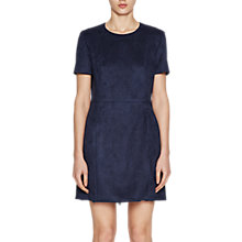 Buy French Connection Patty Dress, Russian Blue Online at johnlewis.com