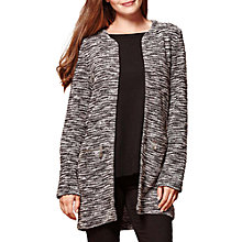 Buy Yumi Zipped Pocket Marl Jacket, Grey Online at johnlewis.com