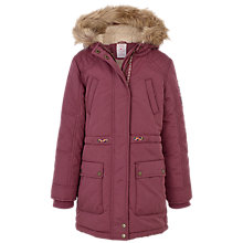 Buy Fat Face Girls' Tiverton Parka Coat Online at johnlewis.com