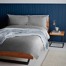 Buy John Lewis Coastal Chambray Duvet Cover and Pillowcase Set Online at johnlewis.com