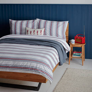 John Lewis Coastal Haven Duvet Cover And Pillowcase Set
