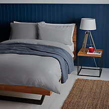 Buy John Lewis Holkham Herringbone Duvet Cover and Pillowcase Set Online at johnlewis.com