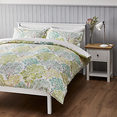 John Lewis Country Leckford Trees Duvet Cover Set
