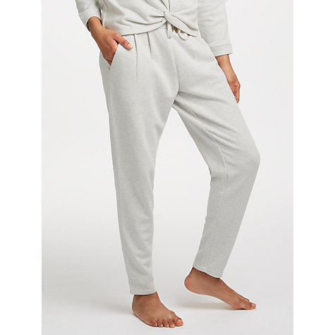 Buy John Lewis Loop Back Jogger Bottoms, Stone Online at johnlewis.com