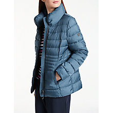 Buy Gerry Weber Padded Thinsulate Jacket, Bird Blue Online at johnlewis.com