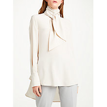 Buy Modern Rarity Tie Neck Silk Blouse Online at johnlewis.com