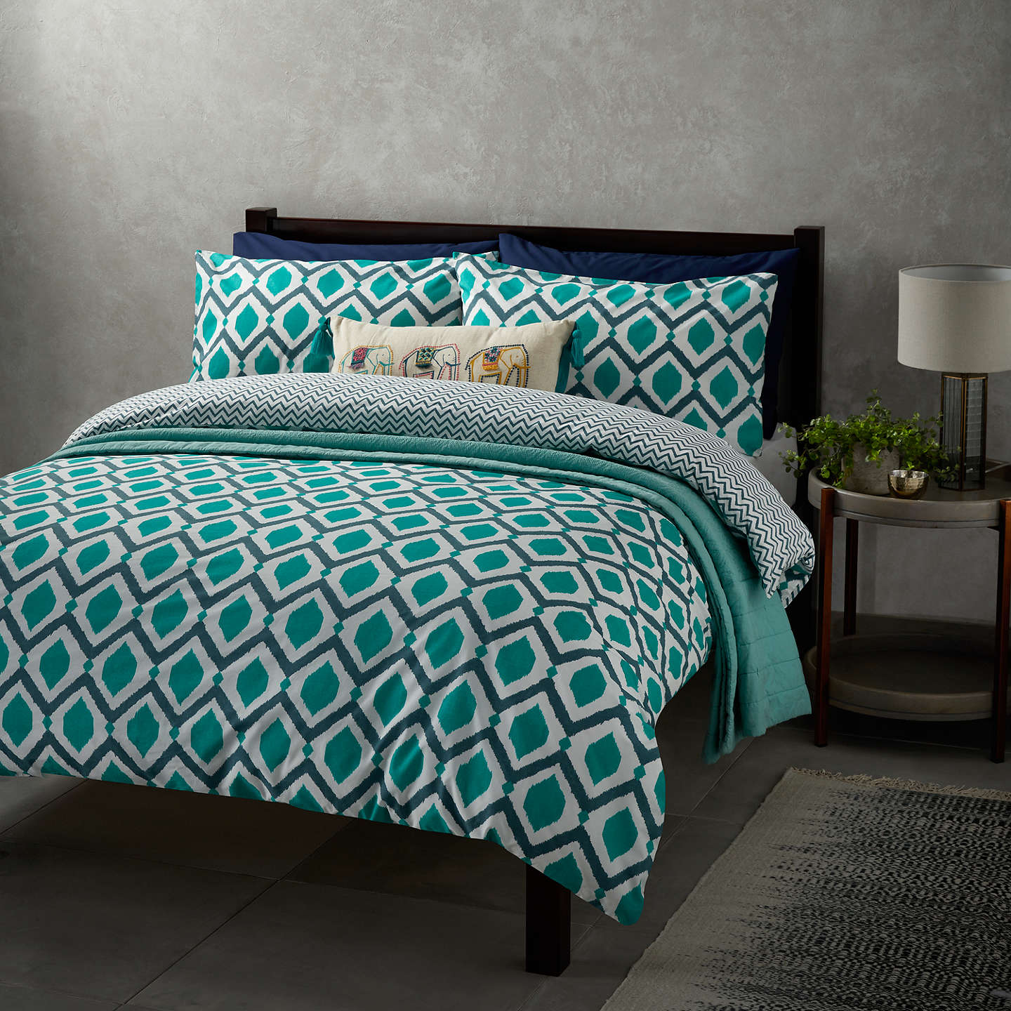 queen dolce cotton size piece alternative luxury views p set houndstooth bedding htm duvet check cover mela