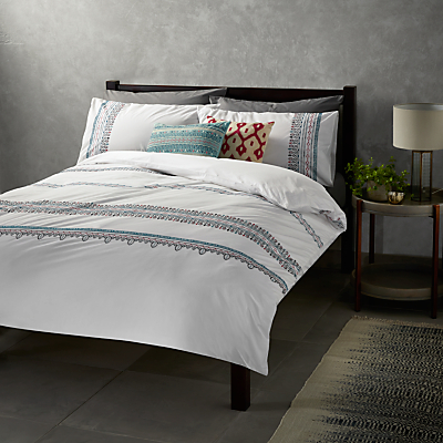 John Lewis Fusion Mahal Duvet Cover and Pillowcase Set