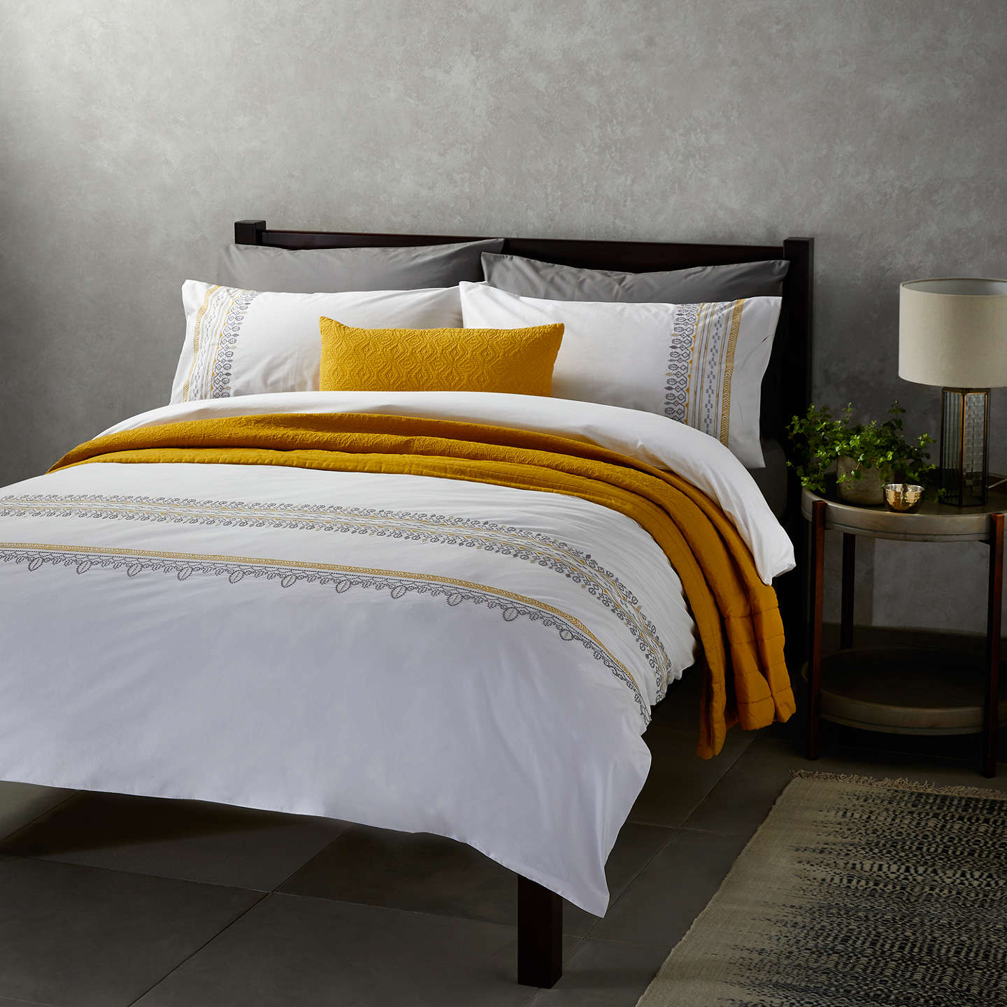 Buyjohn Lewis Fusion Mahal Duvet Cover And Pillowcase Set, Single,