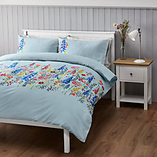 Buy John Lewis Country Flora Border Duvet Cover Set Online at johnlewis.com