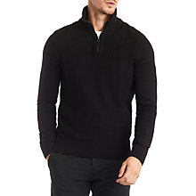 Buy BOSS Orange Almore Jumper, Black Online at johnlewis.com