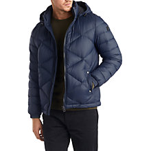 Buy BOSS Orange Obaron Padded Jacket, Navy Online at johnlewis.com