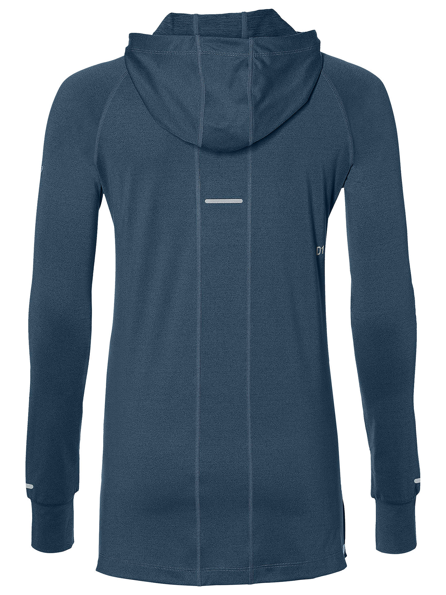latest releases select for original limited guantity Asics Thermopolis Long Sleeve Running Hoodie, Blue Steel ...