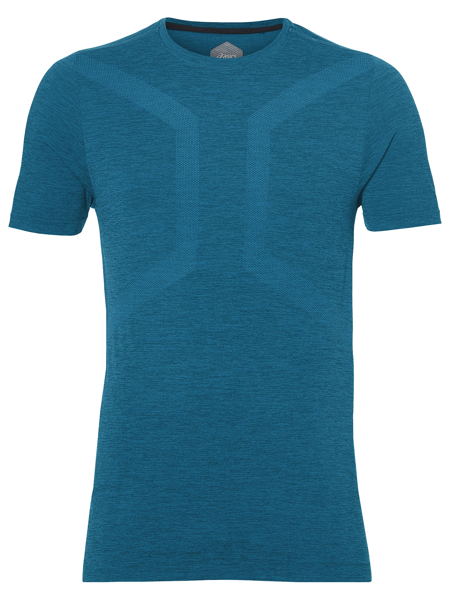 asics mens seamless running tee-shirt