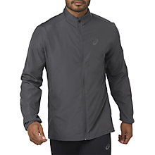 Buy Asics Running Jacket, Dark Grey Online at johnlewis.com