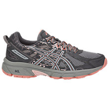 Buy Asics GEL-VENTURE 6 Women's Running Shoes, Grey/Pink Online at johnlewis.com