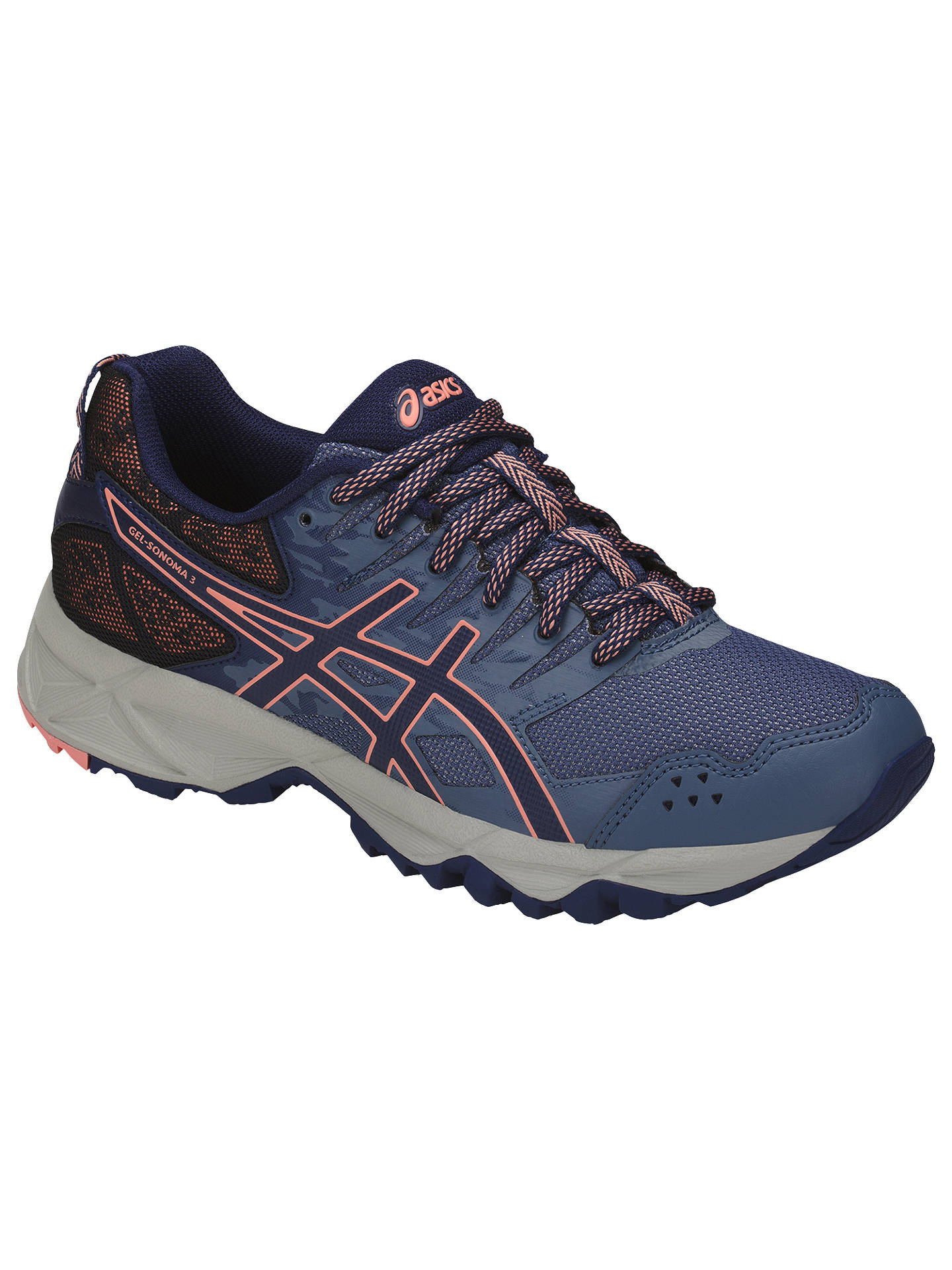 e98ba53a ... Buy Asics GEL-SONOMA 3 Women's Trail Running Shoes, Smoke Blue, 4  Online ...