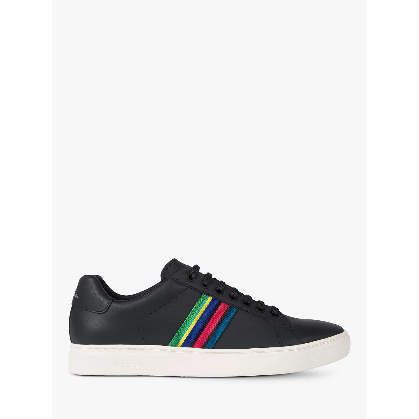 Ps Paul Smith Lapin Stripe Trainers Black 7 Online At Johnlewis Com