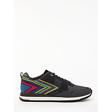 Buy Paul Smith Rappid Lace Up Trainers, Dark Navy Online at johnlewis.com