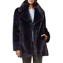Buy Hobbs Bethany Coat, Ink Online at johnlewis.com