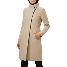 Buy Hobbs Soraya Coat, Pottery Online at johnlewis.com