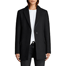 Buy AllSaints Thea Jacket, Black Online at johnlewis.com