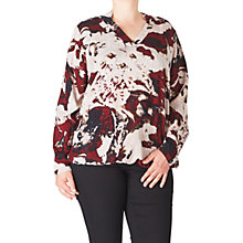 Buy ADIA Printed Blouse, Merlot/Multi Online at johnlewis.com