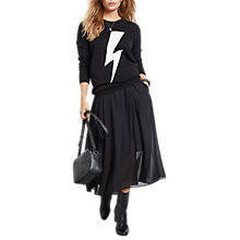 Buy hush Lightning Bolt Jumper, Black/White Online at johnlewis.com