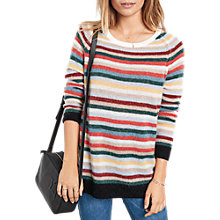 Buy hush Striped Boyfriend Jumper, Multi Online at johnlewis.com