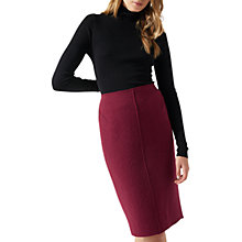 Buy Jigsaw Boiled Wool Pencil Skirt Online at johnlewis.com
