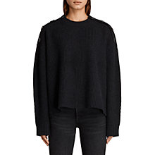 Buy AllSaints Faye Wool Blend Jumper Online at johnlewis.com