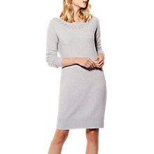 Buy Karen Millen Handwork Luxe Dress, Grey Online at johnlewis.com