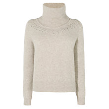 Buy Karen Millen Handwork Luxe Jumper, Neutral Online at johnlewis.com