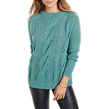 Buy hush Braid Jumper, Deep Sea Online at johnlewis.com