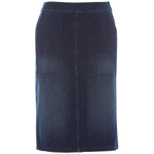 Buy White Stuff Kildare Denim Stretch Skirt, Blue Online at johnlewis.com
