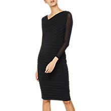 Buy Mint Velvet Bandage Dress, Black Online at johnlewis.com