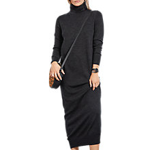 Buy hush Hera Merino Wool Maxi Dress, Charcoal Marl Online at johnlewis.com