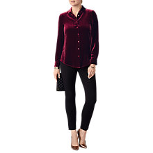 Buy Pure Collection Velvet Shirt Online at johnlewis.com