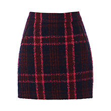 Buy Oasis Marley Check Mini Skirt, Multi Online at johnlewis.com