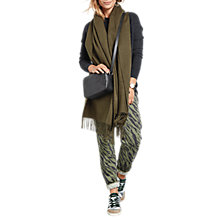 Buy hush Morgan Printed Joggers, Zebra Olive/Charcoal Online at johnlewis.com