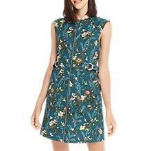 Buy Oasis Isabelle Print Mini Dress, Multi Online at johnlewis.com