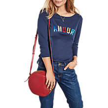 Buy hush Amour T-Shirt, Navy Online at johnlewis.com