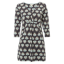 Buy White Stuff Spirit Leaf Jersey V Neck Tunic Dress, Deep Forest/Multi Online at johnlewis.com