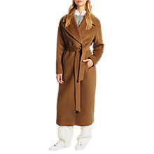 Buy Grace & Oliver Eden Wool Coat, Vicuna Online at johnlewis.com