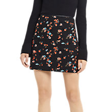Buy Oasis Ruby Floral Mini Skirt, Multi Online at johnlewis.com
