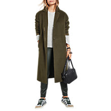 Buy hush Christie Coat, Olive Online at johnlewis.com
