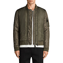Buy AllSaints Bellevue Bomber Jacket Online at johnlewis.com