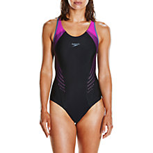 Buy Speedo Fit Laneback Swimsuit Online at johnlewis.com