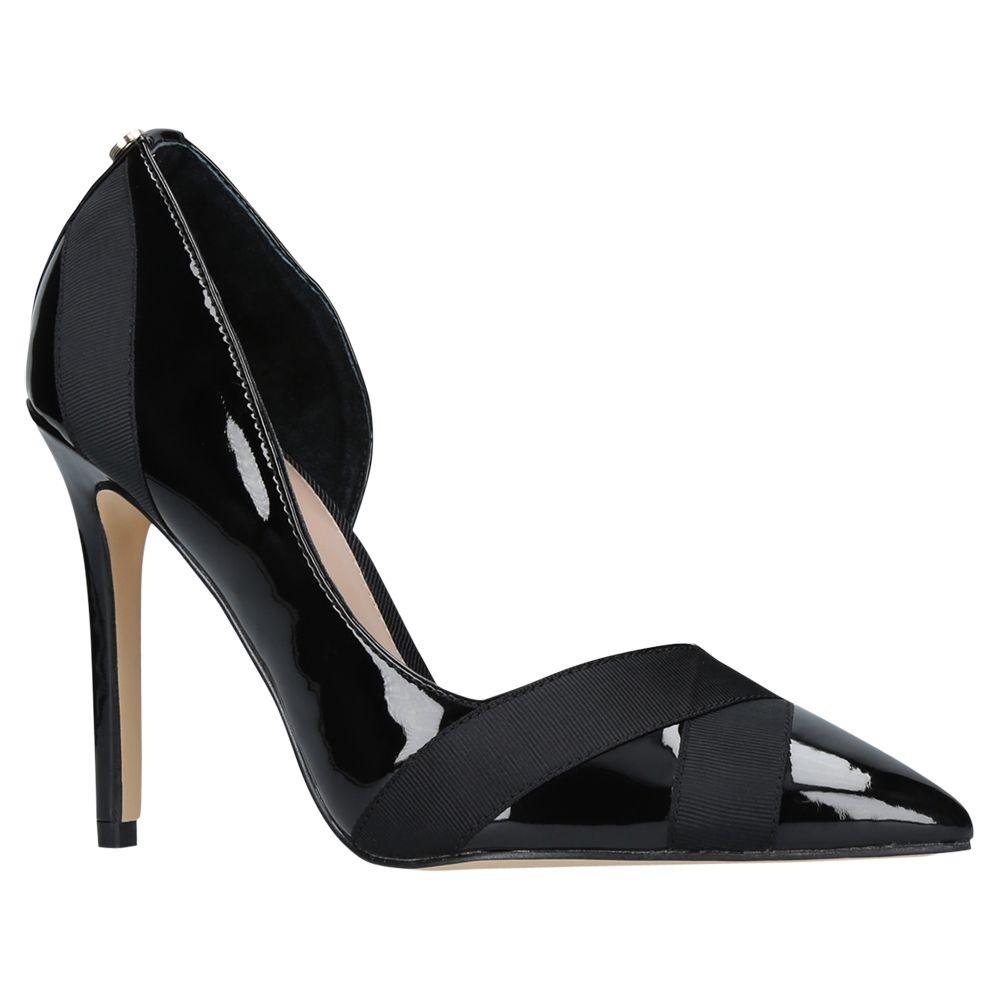 9e0f0acd725 Carvela Lark Asymmetric Stiletto Heeled Court Shoes, Black at John ...
