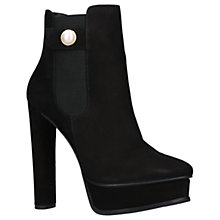 Buy KG by Kurt Geiger Radar Block Heeled Platform Ankle Boots Online at johnlewis.com